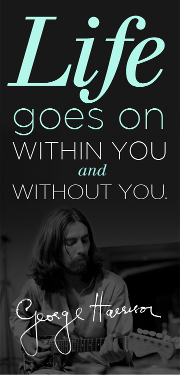 George Harrison quote #1