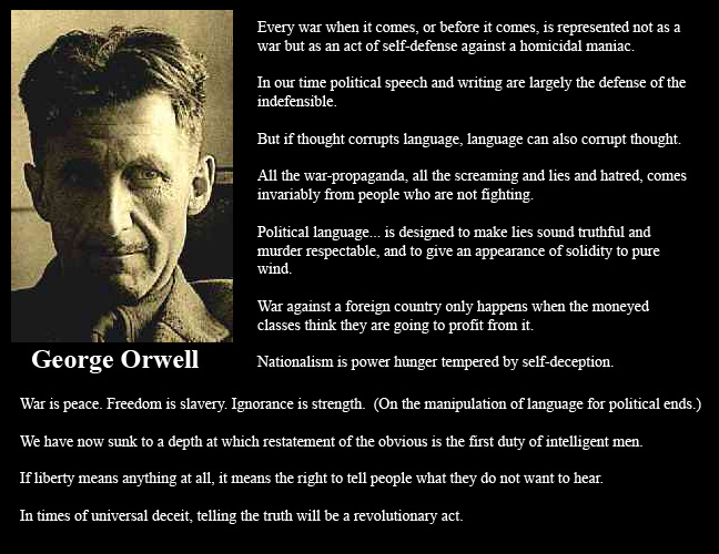 George Orwell's quote #6