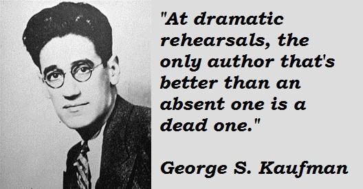 George S. Kaufman's quote #4