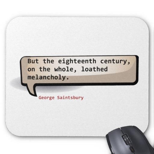 George Saintsbury's quote