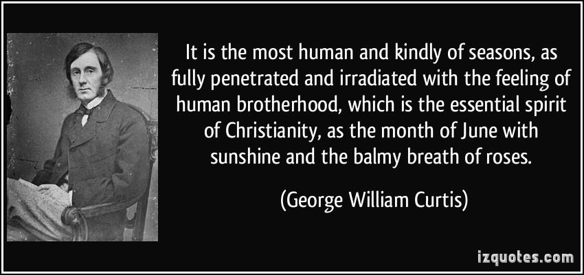 George William Curtis's quote #3