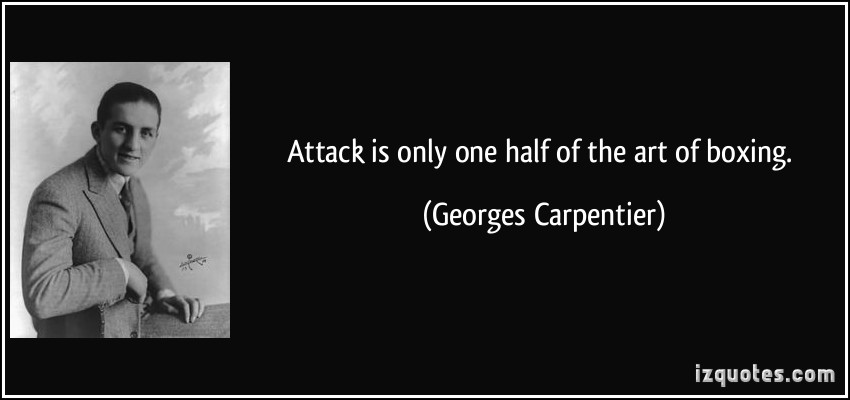 Georges Carpentier's quote