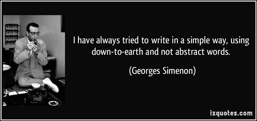 Georges Simenon's quote #2