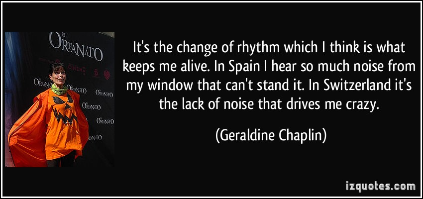 Geraldine Chaplin's quote #3