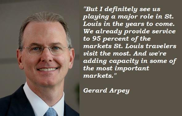 Gerard Arpey's quote #7