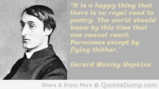 Gerard Manley Hopkins's quote #1