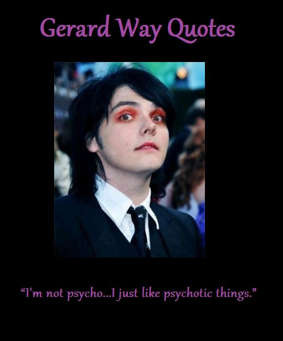Gerard Way's quote #2