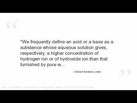 Gilbert Newton Lewis's quote #1