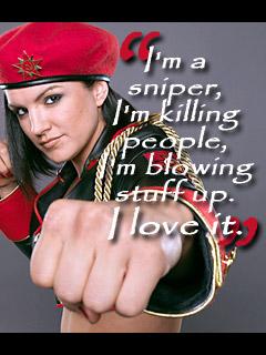 Gina Carano's quote #1