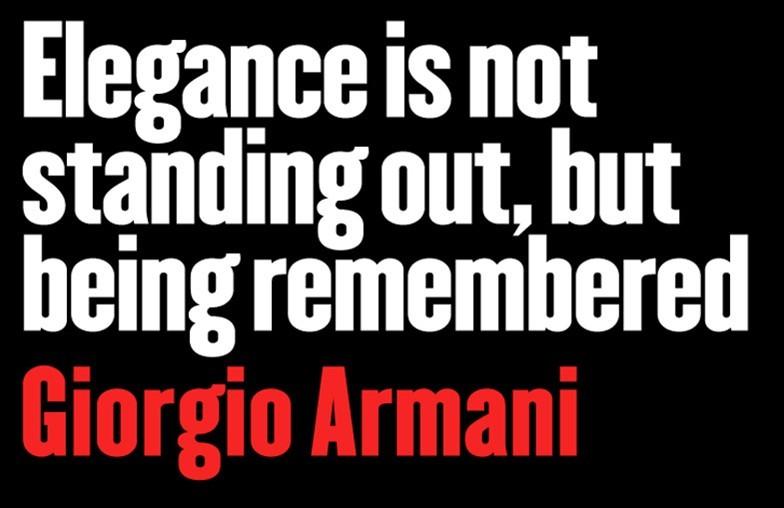 Giorgio Armani's quote #3