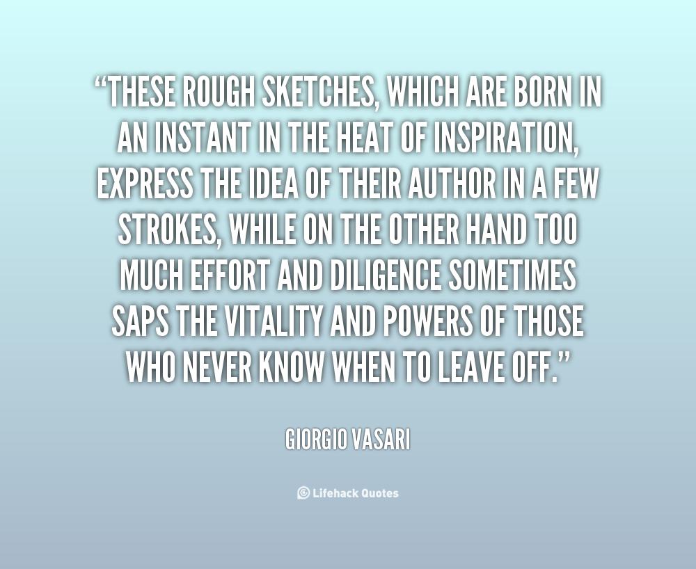 Giorgio Vasari's quote