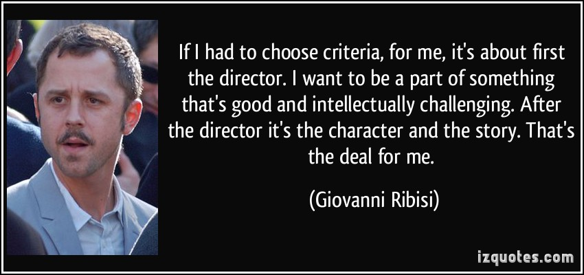 Giovanni Ribisi's quote #2