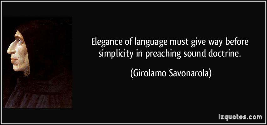 Girolamo Savonarola's quote #1