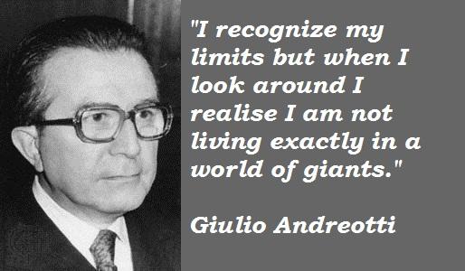 Giulio Andreotti's quote #1