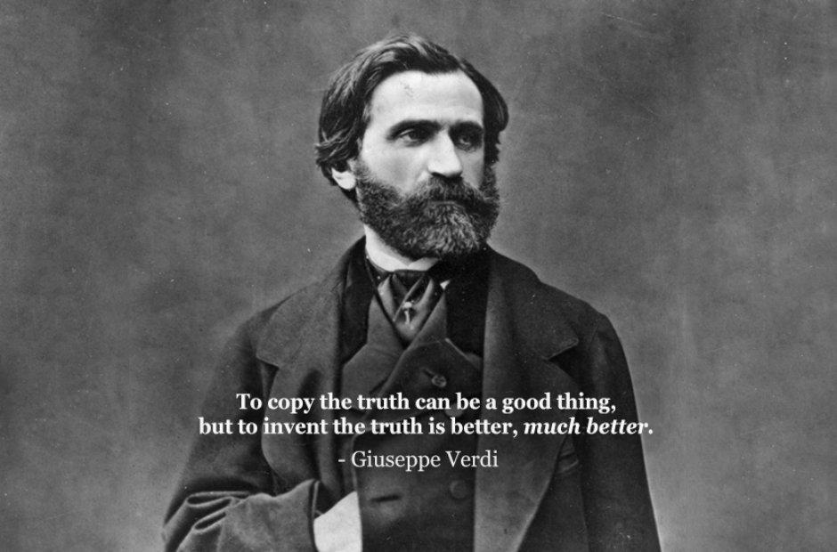 Giuseppe Verdi's quote #1
