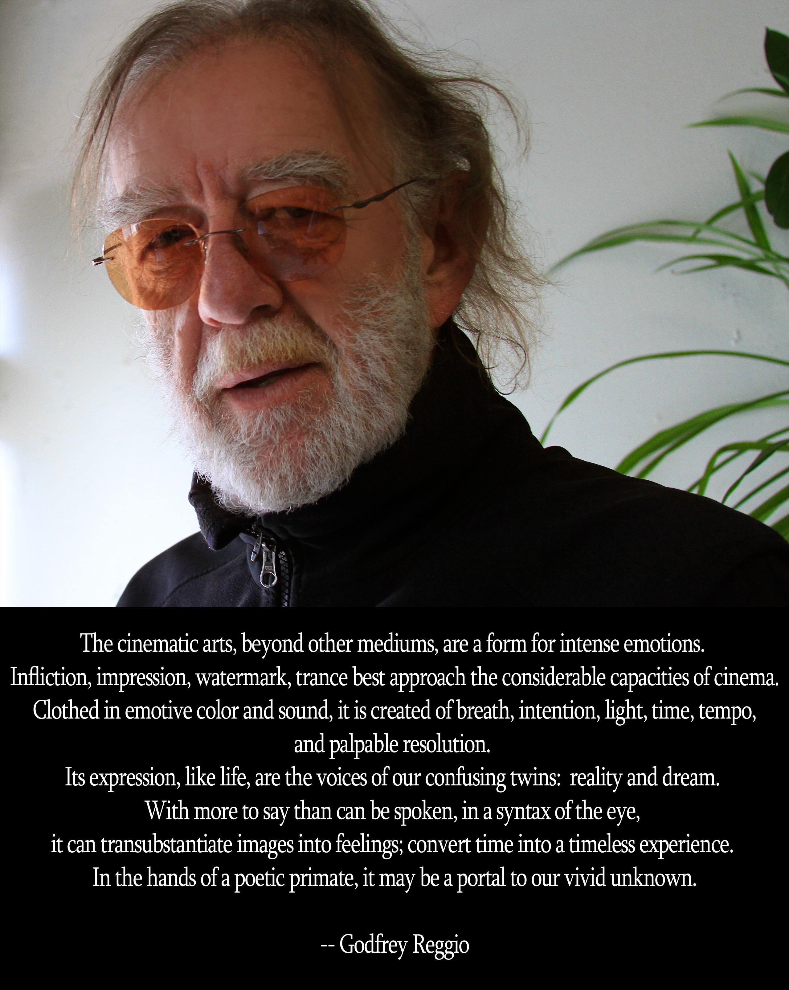 Godfrey Reggio's quote #1