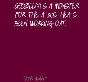 Godzilla quote