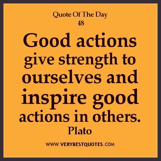 Good Action quote #1