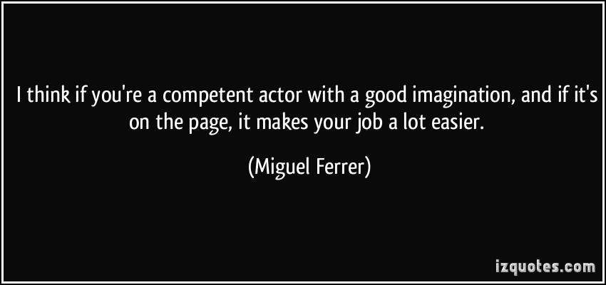Good Actor quote #1