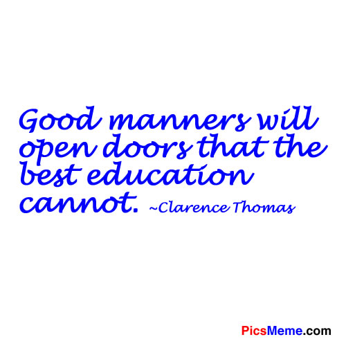 Nice Quotes On Education: Famous Quotes About 'Good Education'
