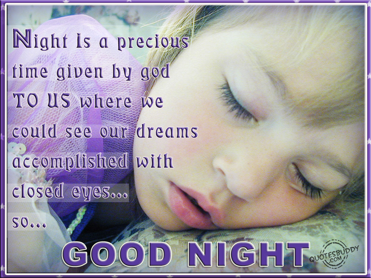Famous Quotes About 'Good Night'