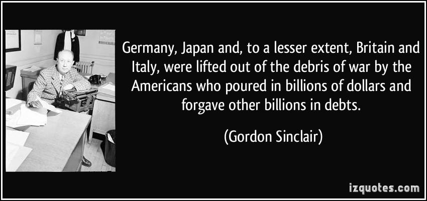 Gordon Sinclair's quote #2