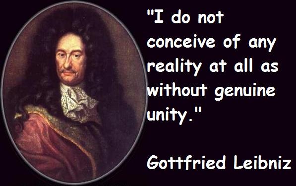 Gottfried Leibniz's quote #5