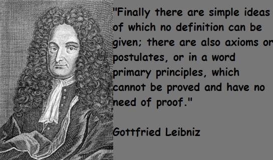 Gottfried Leibniz's quote #8