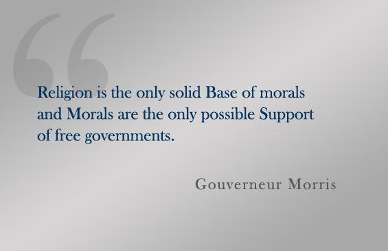 Gouverneur Morris's quote