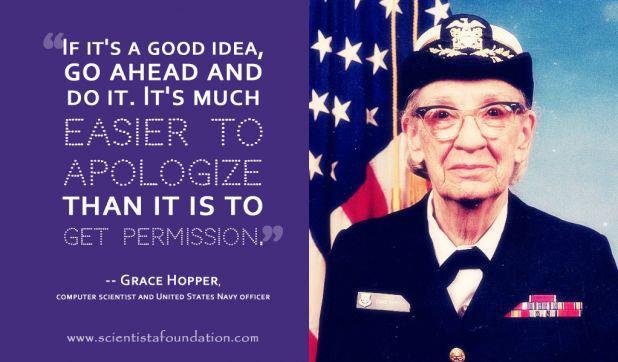 Grace Hopper's quote #2