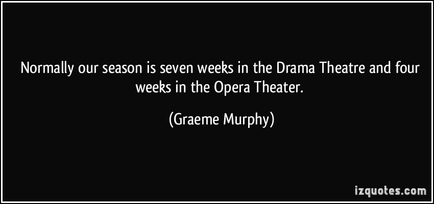 Graeme Murphy's quote #2