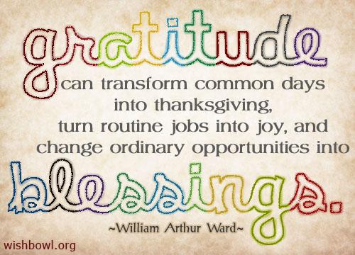 Gratitude quote #3