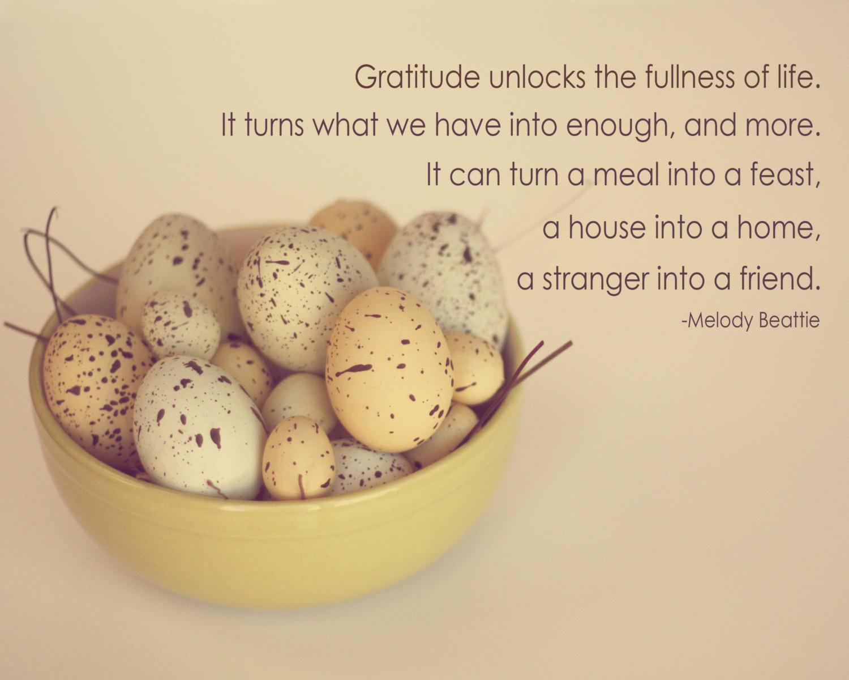 Gratitude quote #4