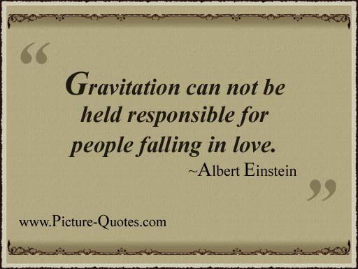 Gravitational quote #2