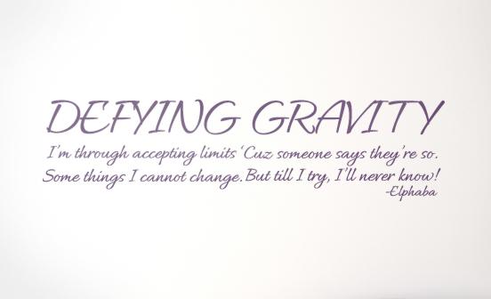 Gravity quote #1