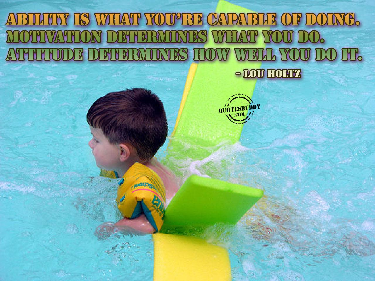 Great Attitude quote #2