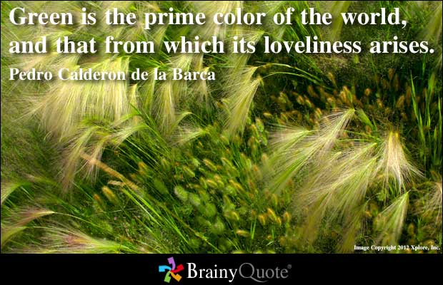 Green quote #1