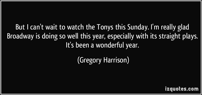 Gregory Harrison's quote #4
