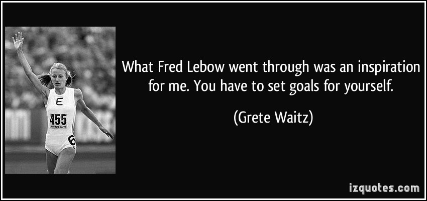 Grete Waitz's quote #5