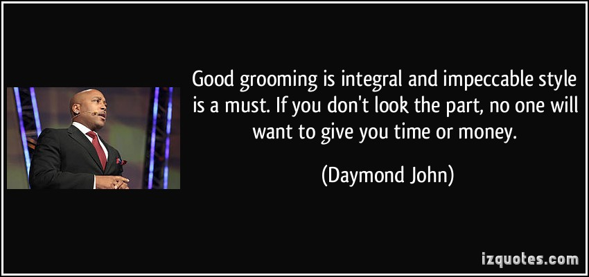 Grooming quote
