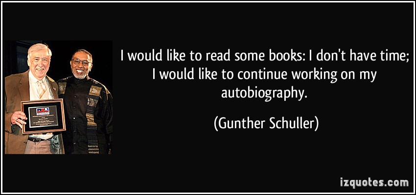 Gunther Schuller's quote #4