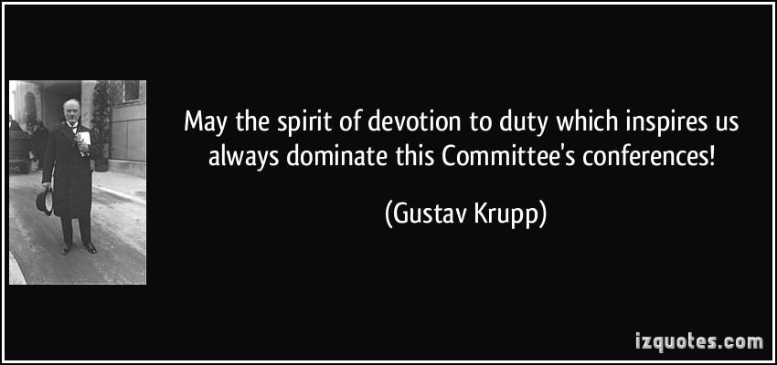 Gustav Krupp's quote #4