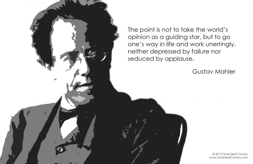 Gustav Mahler's quote #1