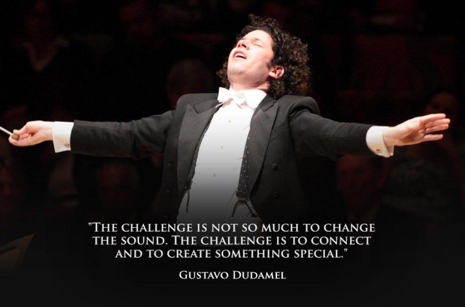 Gustavo Dudamel's quote #1