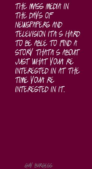 Guy Burgess's quote
