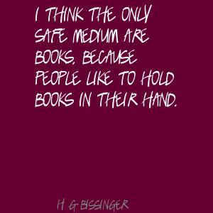 H. G. Bissinger's quote #7
