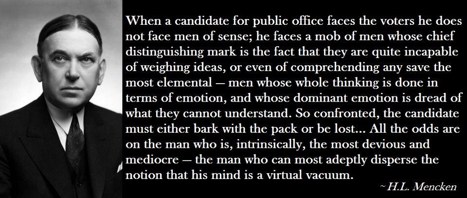 H. L. Mencken's quote #7
