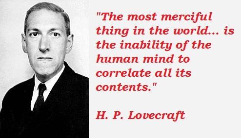 H. P. Lovecraft's quote #7