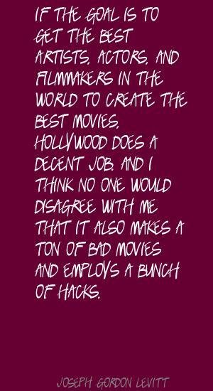 Hacks quote #2