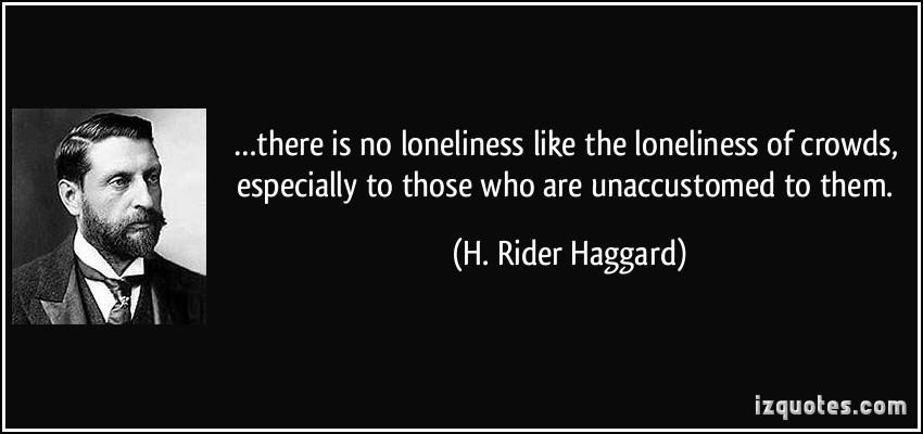 Haggard quote #1